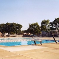 Swimming pool, Veterans Memorial Park