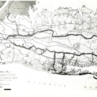 General Development Plan Map, Long Island State Parks Commission