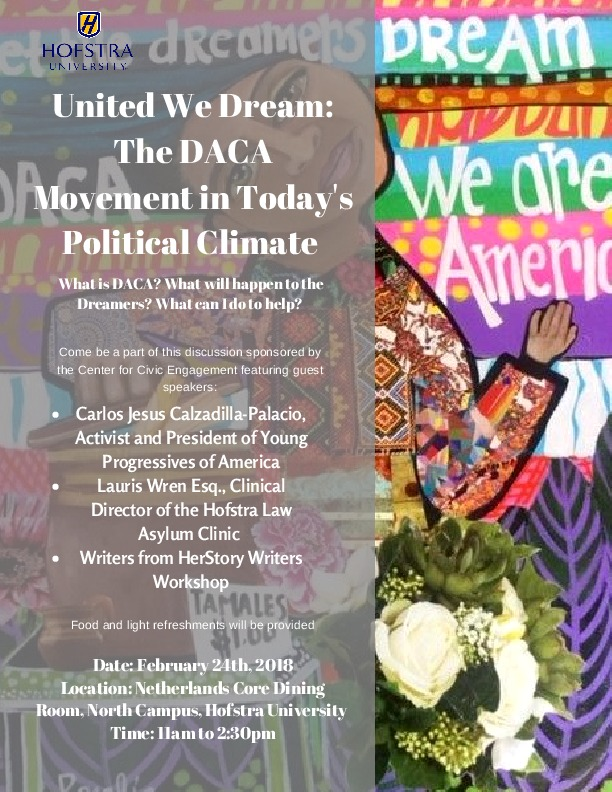 """""""United We Stand: The DACA Movement in Today's Political Climate"""""""