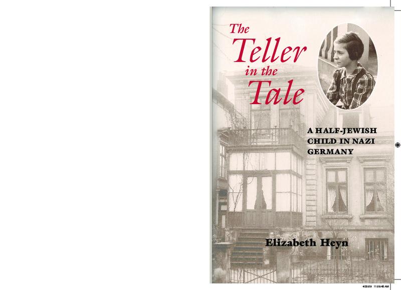 """The Teller in the Tale"" book cover by Elizabeth Heyn"