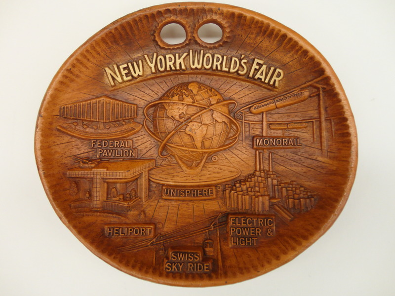 1964 WF box 4 wooden bowl