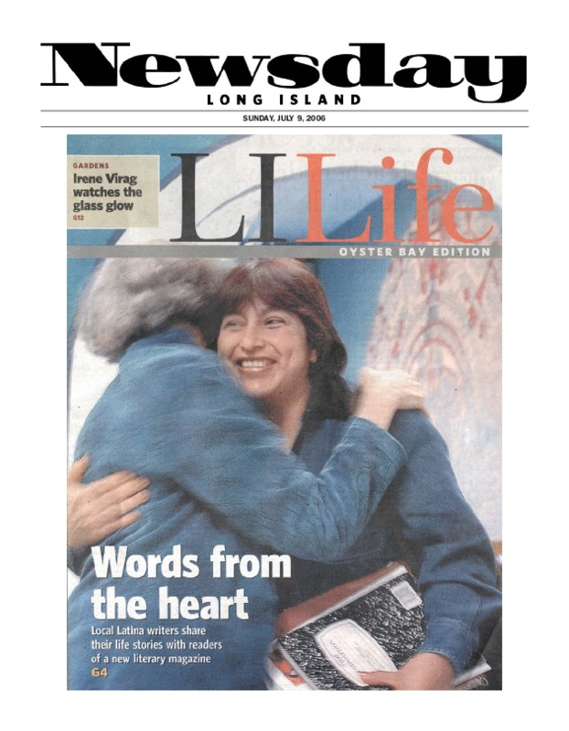 """Words from the Heart"" Newsday article (July 9, 2006)"