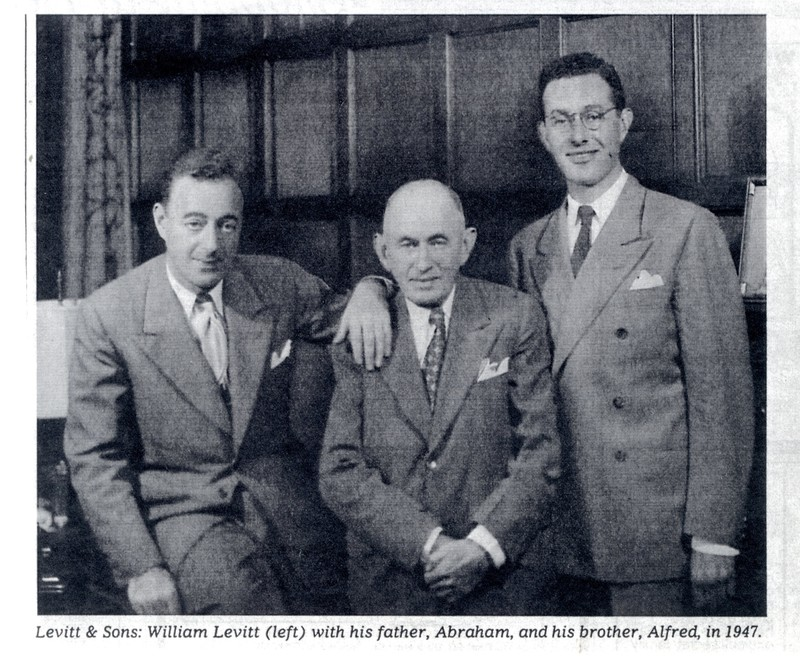 William, Abraham, and Alfred Levitt