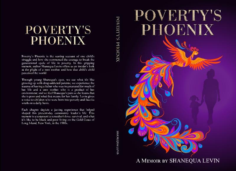 """""""Poverty's Phoenix"""" Book Cover"""