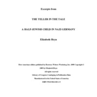 Excerpts from  The Teller in the Tale by Elizabeith Heyn.pdf