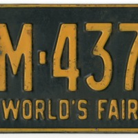 1964 license plate 1