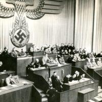 Fuehrer speaking in the Reichstag.jpg