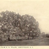 John St. From R.R. Track, Amityville L.I.