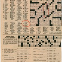 New York Times Magazine crossword puzzle featuring William Levitt as a clue.