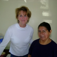 Susan Perretti with Marcelo Lucero's Mother