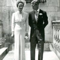 Duke & Duchess of Windsor on Wedding Day in France.jpg