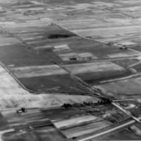 Aerial view of Island Trees area before construction of Levitt homes