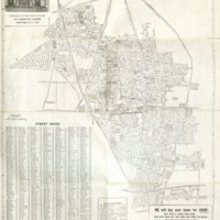 Map of Levittown circa. 1970s